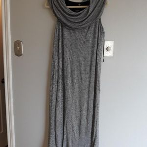 Kensie Black and White strip Relax FIt Dress